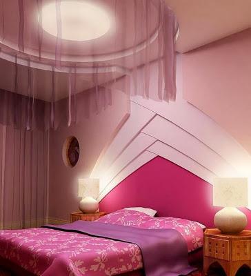 بالصور جبس ديكور لغرف النوم gypsum false ceiling design with ceiling curtain for bedrooms1