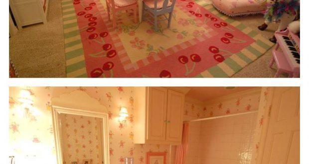 صور غرف نوم جديدة للاطفال سراير بناتي الوان وردية تجنن