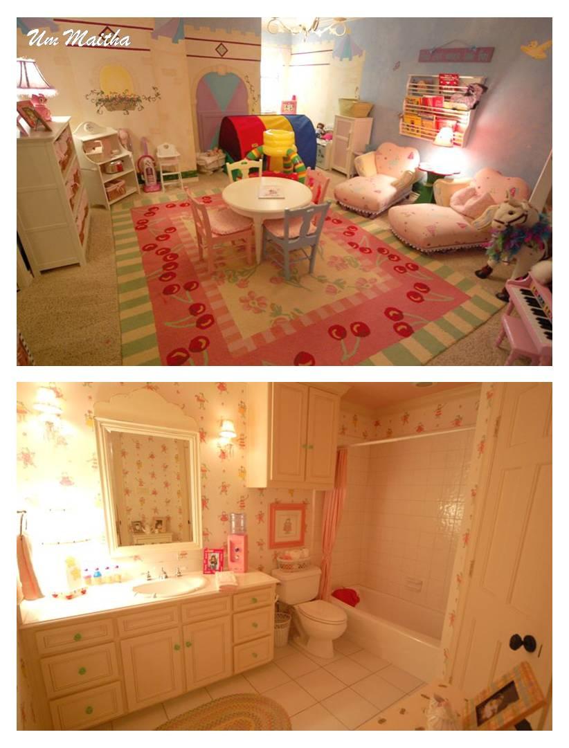 صور صور غرف نوم جديدة للاطفال سراير بناتي الوان وردية تجنن