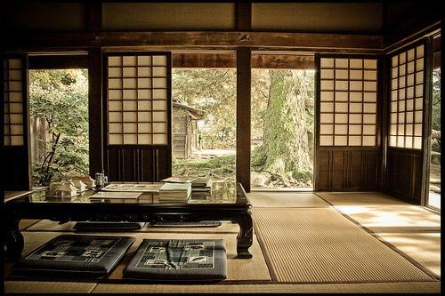 صور غرف معيشة ستايل ياباني ديكورات يابانية جديدة