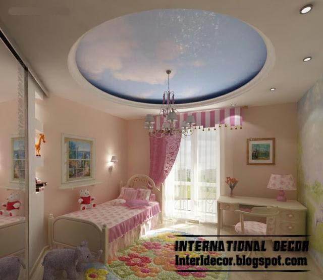 صور اسقف جبسية لغرف الاطفال