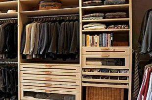 صورة كيف ارتب دولاب الملابس بسرعه و بشكل منظم و مرتب