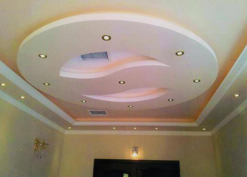 صورة صور ديكورات منزلية الاسقف الجبسية اجمل الاسقف الجبسية 28141 4